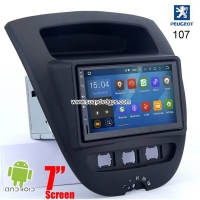 Peugeot 107 Android In Car Media Radio WIFI GPS camera navigation