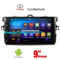 Toyota Auris Corolla Android Car Radio GPS WIFI navigation camera