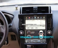 Toyota Prado 150 Android Car Radio GPS Vehicle Multimedia Wifi camera