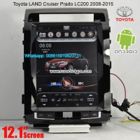 Toyota LAND Cruiser Prado Android Car Radio GPS Vehicle Multimedia Wifi camera