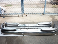 Mercedes Benz W111 sedan Stainless Steel Bumpers