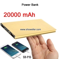 Traveling Portable external battery pack Charger 20000mah Power Bank
